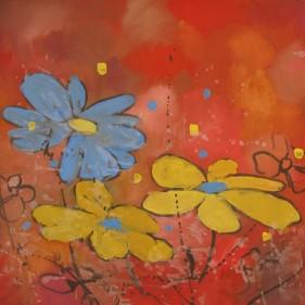 Fleurs 87x71