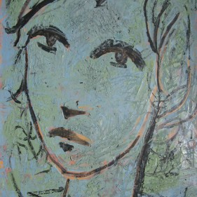 Huile et acrylique sur toile, 61x42cm (2)