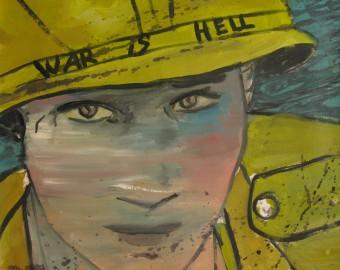 Soldat américain 71x52